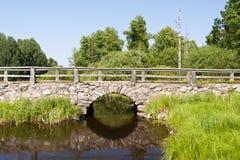 Bridge in Sweden Royalty Free Stock Photography