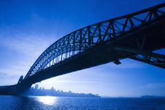 Bridge, Sydney, Australia. royalty free stock photography
