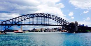 Bridge. In a Sydney city, Australia. Oceania and Stock Photos