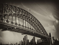 Bridge of Sydney Harbour, Australia Stock Photo