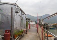 Bridge in Tai O Lantau Island Hong Kong Stock Image