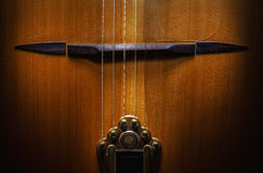 Bridge And Tailpiece Royalty Free Stock Images