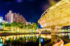 Bridge in taiwan kaohsiung. Bridge in taiwan KH love river Stock Image