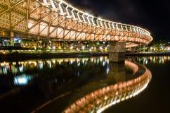 Bridge in taiwan KH. Love river Royalty Free Stock Photography