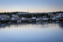 Bridge Tavira  Portugal. Royalty Free Stock Images