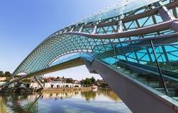 Bridge in Tbilisi Stock Image