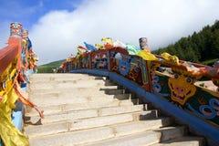 Bridge of Temple Stock Image
