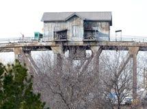 Bridge Tender's House Royalty Free Stock Image