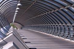 Bridge. Tercer Milenio bridge, Zaragoza, Spain Royalty Free Stock Image