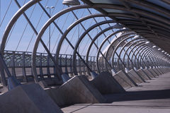 Bridge. Tercer Milenio bridge, Zaragoza, Spain Stock Photos