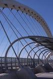 Bridge. Tercer Milenio bridge, Zaragoza, Spain Royalty Free Stock Photo