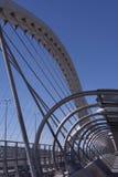 Bridge. Tercer Milenio bridge, Zaragoza, Spain Royalty Free Stock Photos