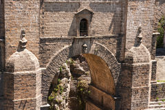 Bridge from 18th century in Ronda, Stock Images