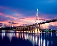Bridge in Thailand royalty free stock photo