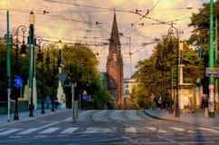 Bridge Theatre in Poznan Royalty Free Stock Photo