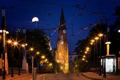 Bridge Theatre in Poznan Royalty Free Stock Photography