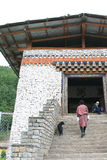 Bridge - Thimphu - Bhutan Stock Photos