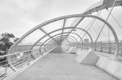 Bridge of the third millenium in Zaragoza Royalty Free Stock Image