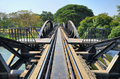 Bridge though river Kwai Stock Image