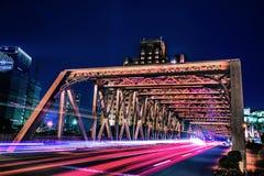 Bridge in Time-lapse Photo Stock Photos
