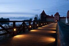bridge to the castle Royalty Free Stock Photo