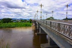 Bridge to Chiang Rai. Stock Image