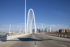 Bridge to Dallas Stock Image