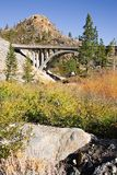 Bridge to Donner Pass Royalty Free Stock Photo