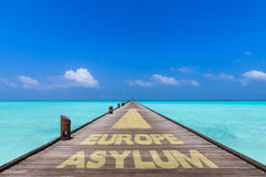 Bridge to Europe Stock Images