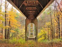 Bridge to Fall Stock Photos