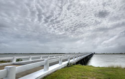 Bridge to Fort Pulaski Stock Image