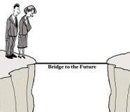 Bridge to the Future Royalty Free Stock Photography