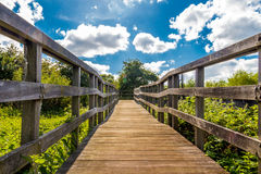 Bridge to the future Stock Photography
