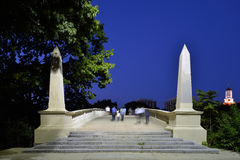 A Bridge to Harvard Royalty Free Stock Images