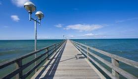 Bridge to horizon Stock Images
