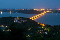 Bridge To Island Royalty Free Stock Photos