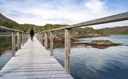 Bridge to the Island Royalty Free Stock Image