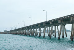 Bridge to jetty Stock Photography