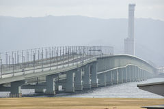 Bridge to Kansai International Airport Stock Photography