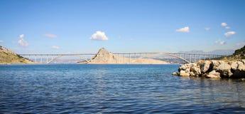 Bridge to Krk Island, Croatia Stock Image