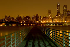 Bridge to Manhattan royalty free stock photo