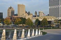 Bridge to Milwaukee Royalty Free Stock Photo