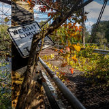 Bridge to Nowhere Stock Images