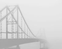 Bridge to nowhere Stock Image