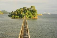 Free Bridge To Nowhere, Samana Bay Stock Photography - 31088152