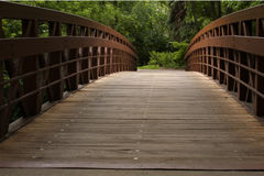 Bridge to the other side. A bridge to the other side stock image