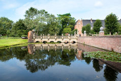 """Bridge to the """"Oude Slot"""" (Old Fortress) Royalty Free Stock Photo"""