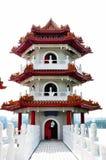 Bridge to pagoda Royalty Free Stock Photography