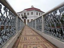 The Bridge To The Pavilion  Stock Image