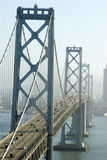 Bridge to San Francisco. Oakland Bridge, San Francisco, California Royalty Free Stock Photos